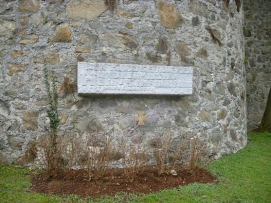 Linzer Schloss - 45 division memorial