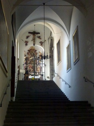 Kirche Stiegenhaus