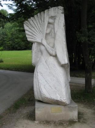 Hermesvilla Sisi Statue