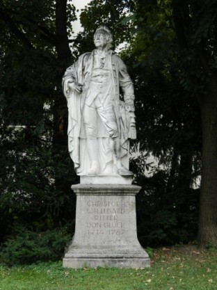 Denkmal Christoph Willibald Gluck