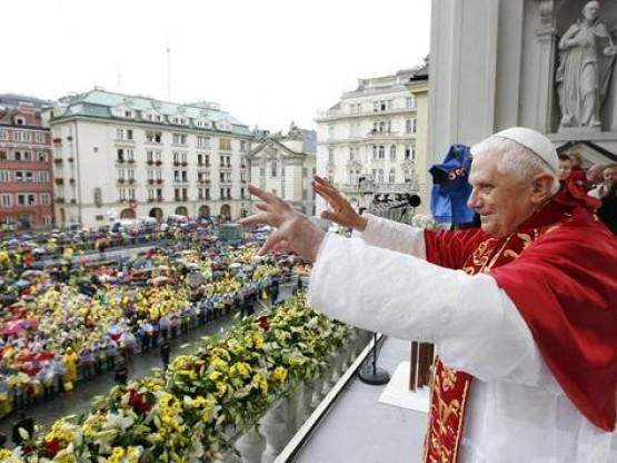 Kirche am Hof - Papst Benedict