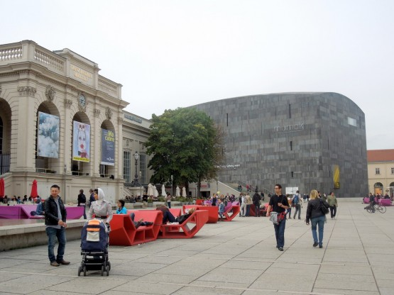 Museumsquartier - Kunsthalle & Ludwig Museum