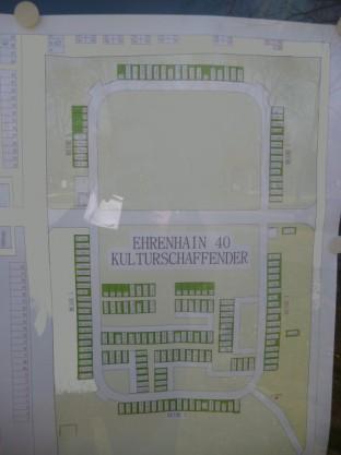 Wiener Zentralfriedhof - Group 40 plan