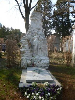 Wiener Zentralfriedhof - Johann Strauss & Adel