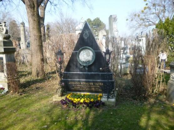 Wiener Zentralfriedhof - Johann Strauss Father