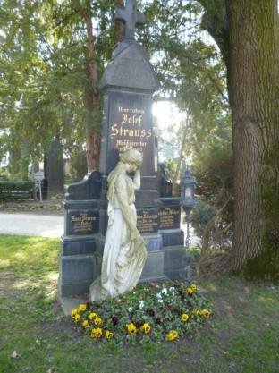 Wiener Zentralfriedhof - Josef Strauss