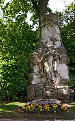 Wiener Zentralfriedhof - Strauss