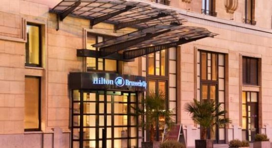Hilton Brussels City Entrance