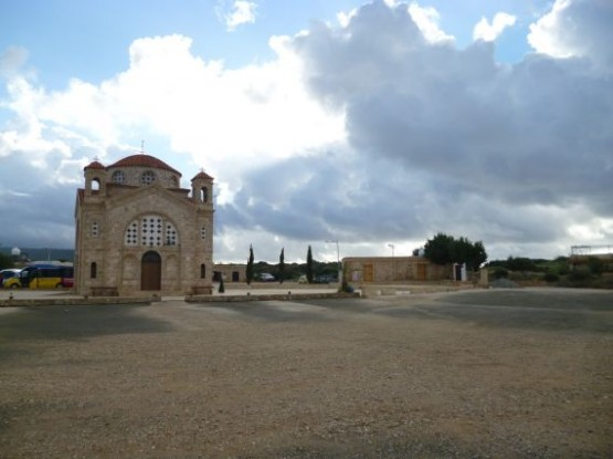 Agios Georgios Pegia Winter 2015 (New Church)