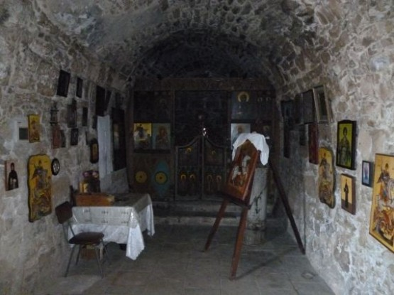 Agios Georgios Pegia Winter 2015 (Old Church XIII c.) (6)