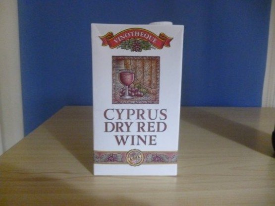 Traditional Cyprus Dry Red Wine