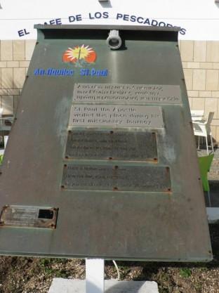 Saint Pauls Memorial Plaque - 2