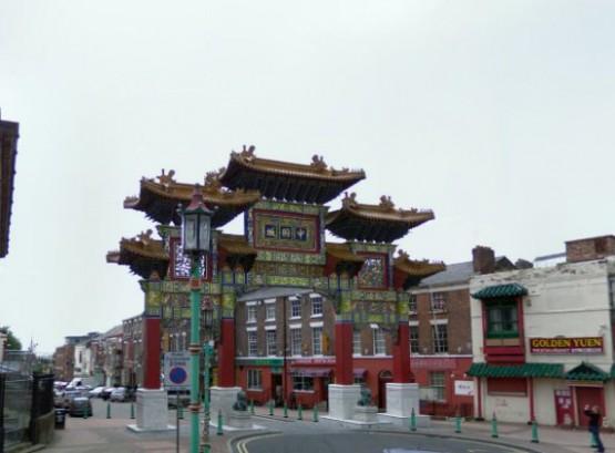 Ворота в Чайнатаун