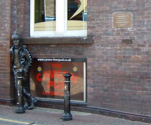 The Statue Of  John Lennon On Mathew Street - 1