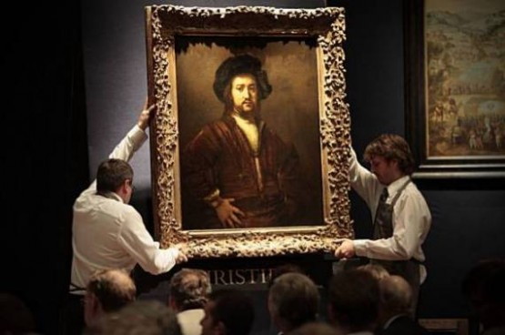 Christies - 33 million dollars Rembrandt