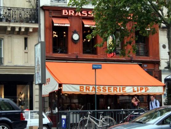 Кафе Brasserie Lipp