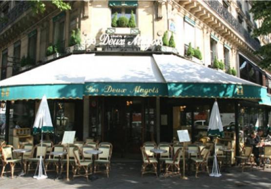 Кафе Les Deux Magots