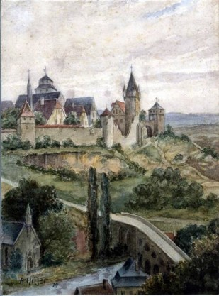 Adolf Hitler View of Laon France 1919
