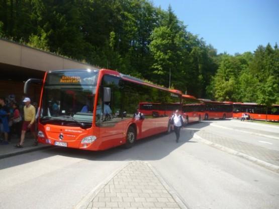 Ex-Platterhof Garage - Bus Stop To Kehlsteinhaus