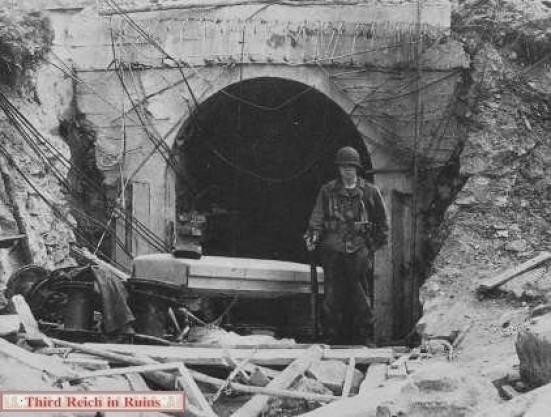 Bormanns House Bunker Exit 1945