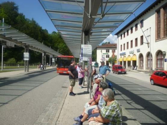Berchtesgaden Hbf - 838 Bus Stop
