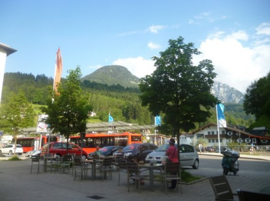 Berchtesgaden Hbf Bus Station - 838 Bus 2016