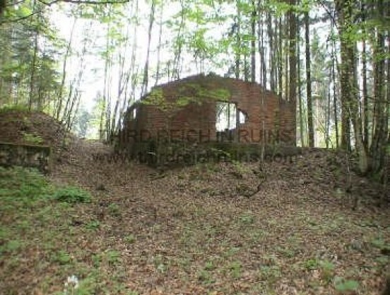 Antenberg barracks ruins