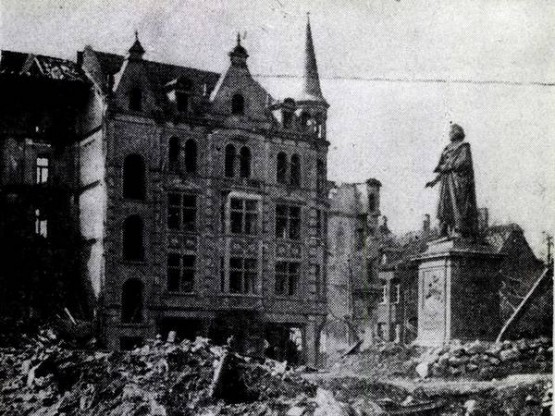 Beethoven-Denkmal 1944