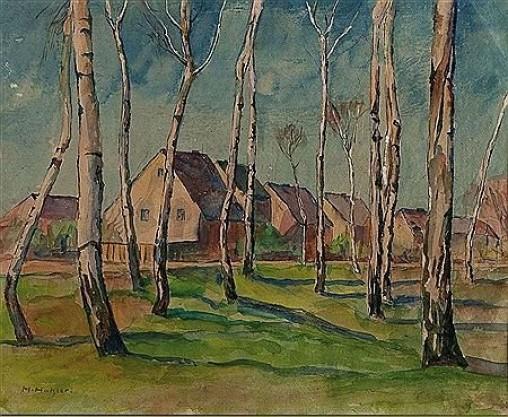 Hugo Hatzler Painting