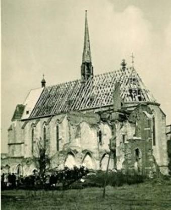 Antoniterkirche 1945