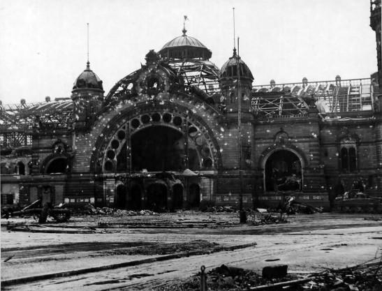Koln Hauptbahnhof 1945