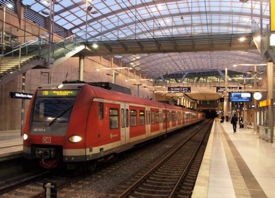 Koln-Bonn-Airport - S-bahn Station