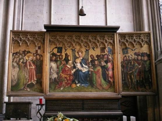 Kolner Dom Lochner Altar