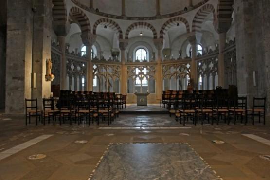 St. Maria im Kapitol Interior