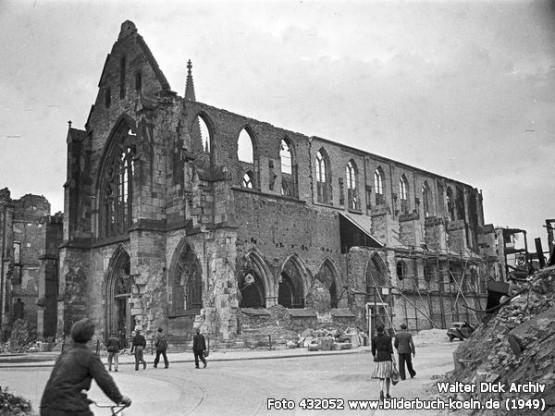 Minoritenkirche 1949