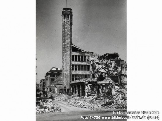 Richmodis-Turm 1945