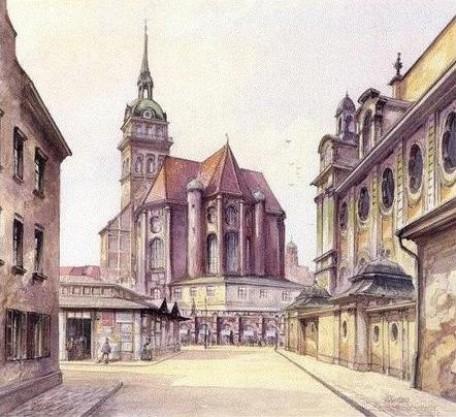 Peterskirche & Viktualienmarkt - Adolf Hitler 1914
