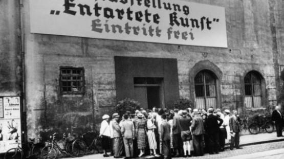 Hofgartenarkaden 1937 Entartete Kunst Entrance
