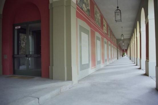 Hofgartenarkaden Deutsches Theatermuseum Entrance