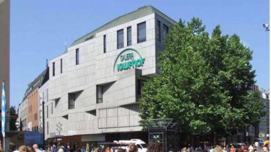 Marienplatz mit Kaufhof
