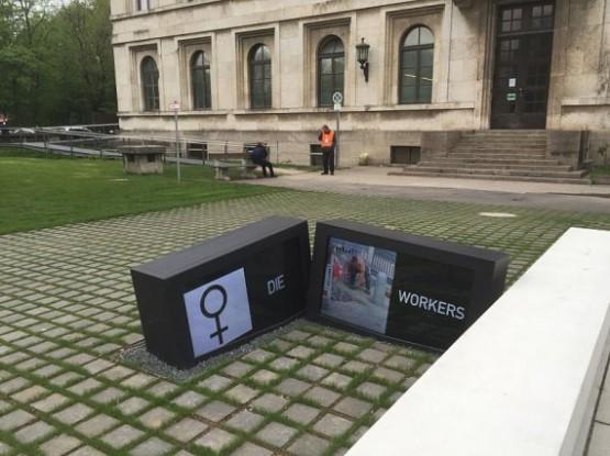NS-Dokumentationszentrum - Street Video Panels