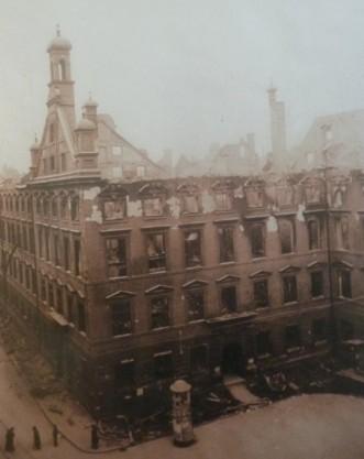 Palaontologisches Museum Munchen 1945