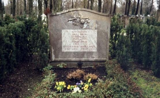Westfriedhof - Hans Baur