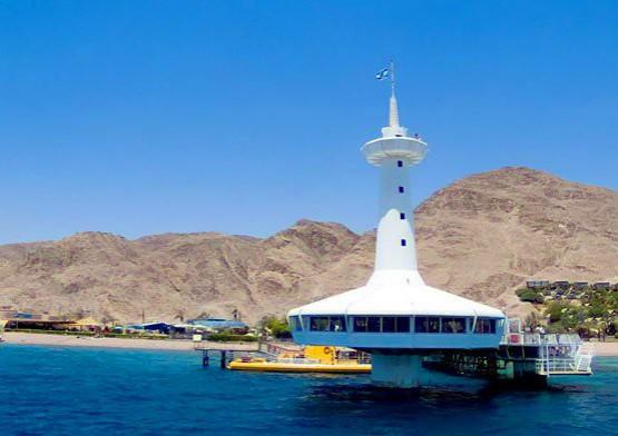 Eilat Underwater Observatory Tower
