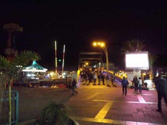 eilat - promenade bridge