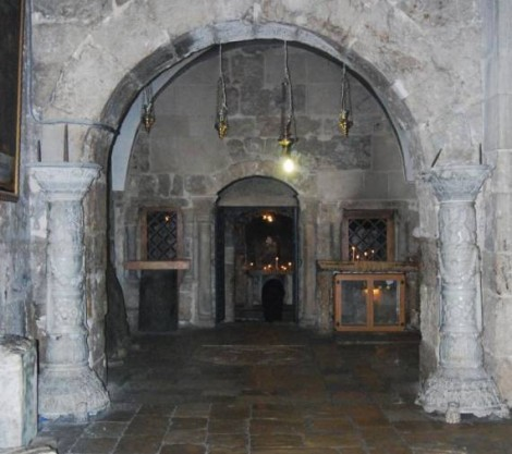 Church Of The Holy Sepulchre - Prison Of Jesus