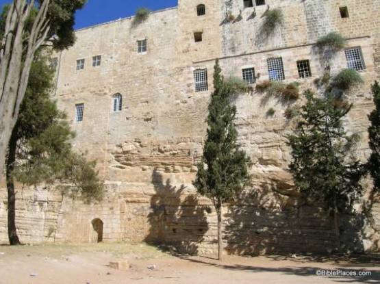 Remains Of Antonia Fortress - Temple Mount