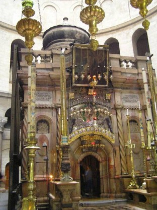 14th Station Via Dolorosa - Edicule - 1