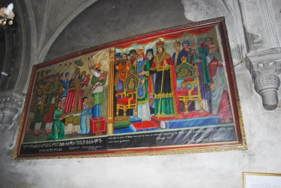 9th Station Via Dolorosa - Coptic Church Inside