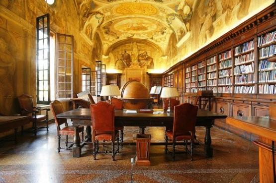 Chiesa di San Michele in Bosco - Biblioteca